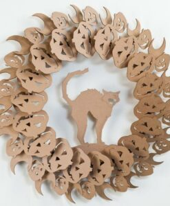 Couronne Halloween  2 Cardboard Safari
