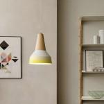 Lampe Eikon 2 , Schneid Enlightment blanche et jaune 3