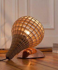 Lampe Teardrop laiton, Massow design