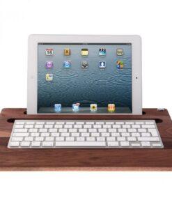 iPad tray noyer Woody's