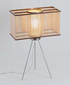 Lampe de table Cuboid , Tom Raffield