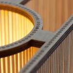 Lampe de table Cuboid , Tom Raffield 3