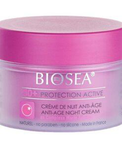 Crème de nuit anti-âge 40+ BIOSEA