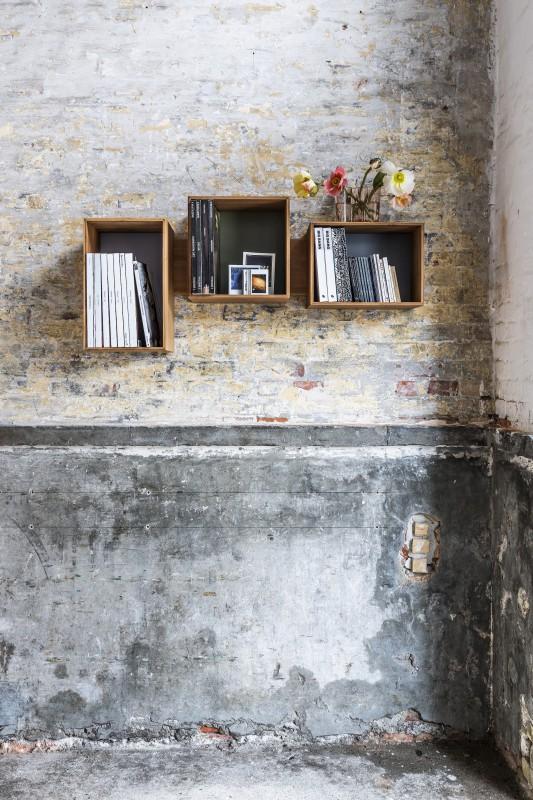 biblioth que murale modulable midi wedowood greenshopin. Black Bedroom Furniture Sets. Home Design Ideas