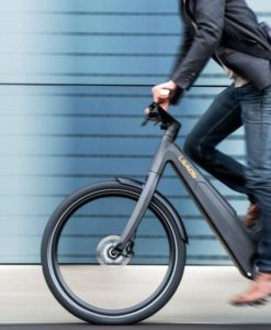 E-bike 25 noir, LEAOS 9