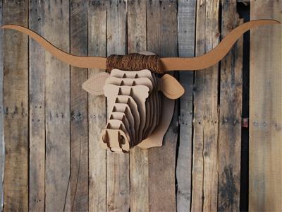 Taureau Tex Cardboard Safari